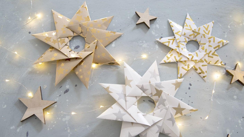 Origamisterne falten   Kreativ   ARD Buffet   SWR.de