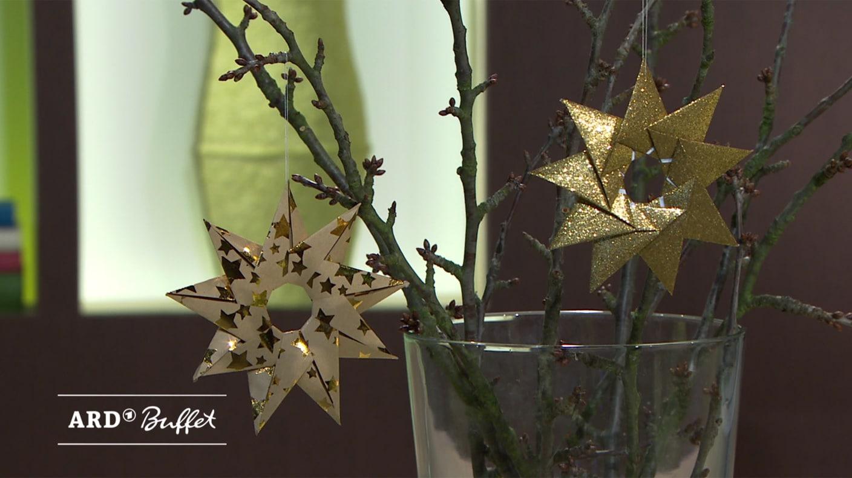 Origamisterne Falten Kreativ Ard Buffet Swrde
