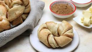Lebkuchen-Kringel aus Hefeteig