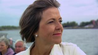 Moderatorin Annette Krause