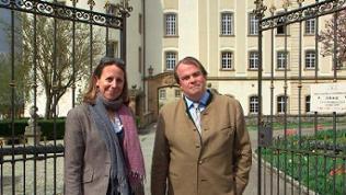 Fürstin Saskia und Fürst Philipp zu Hohenlohe-Langenburg