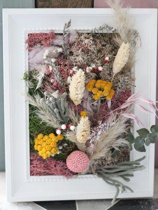 Bilderrahmen mit Blumen