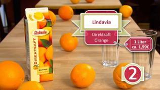 Orangensaft Lindavia