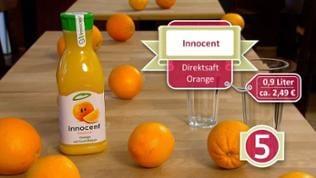 Orangensaft Innocent