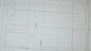 Die Schnittmuster der Weste laut Rasterbilder auf Rasterpapier nachzeichnen und ausschneiden.