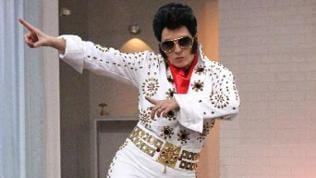 Heike als Elvis