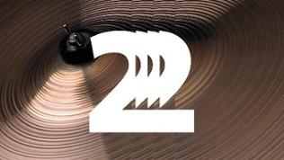 Weiße 2 mit Echo-Effekt auf einem Becken