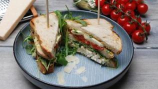 Sommer-Club-Sandwich