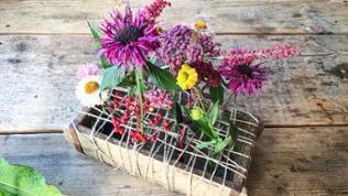 fertige Blumenkiste