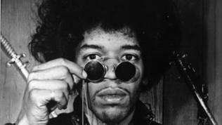 Porträt Jimi Hendrix