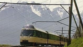 Golden Pass Panoramic: Von Montreux am Genfer See geht es steil hinauf