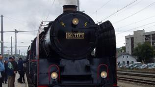 Eine der Hauptdarstellerinngen des Tages, die B&B Lokomotive 50.1171.