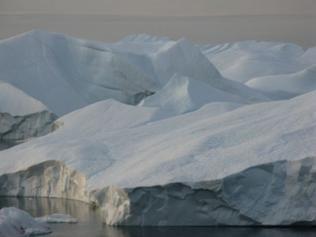Eisberge im Ilulissat Eisfjord