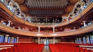 Palast katalanischen Musik: Zuschauerraum