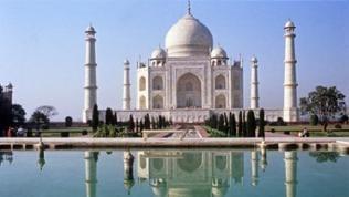 Der Taj Mahal - das schönste Bauwerk der Welt
