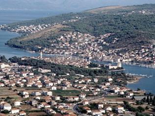 Altstadt von Trogir, Kroatien: Panorama