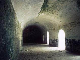 Eingang Sklavenkerker