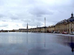 Stadtansicht vom Ufer