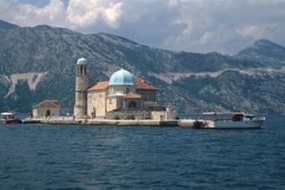 Kircheninsel bei Perast
