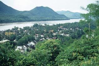 Die alte Königsstadt Luang Prabang