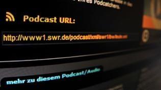 Hinweis auf eine Podcast-URL