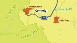 Contwig - Karte