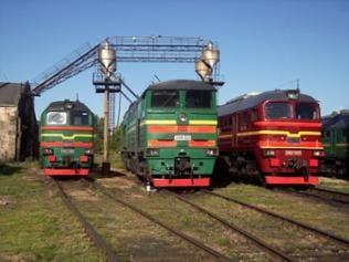 Lok-Depo Daugavpils 2M62 2,TE10 und 2M62