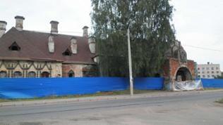 Der ehemalige Zarenbahnhof in Zarskoje Selo