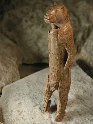 eiszeitliche Skulptur Löwenmensch