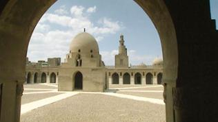 Innenhof Ibn-Tulun-Moschee