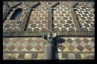 Detail Fassade Königshalle