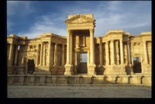 Teilgebäude Amphitheater von Palmyra