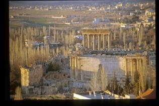 Säulen - Reste des Jupiter-Tempels