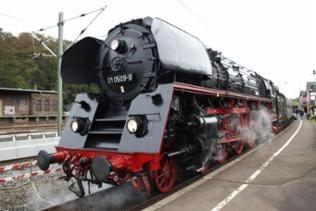 Dampflok 01 509