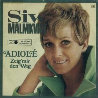 Plattencover von Siw Malmkvist
