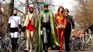 Die Superhelden in Karlsruhe