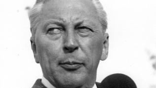 Kurt Georg Kiesinger im Wahlkampf