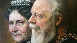 Großherzog Friedrich I. und seine Gattin Großherzogin Luise 1906 zum 50jährigen Thronjubiläum