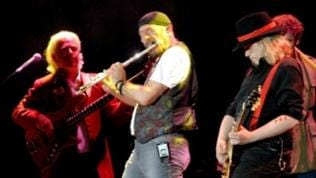 Ian Anderson auf Thick as a brick-Tour