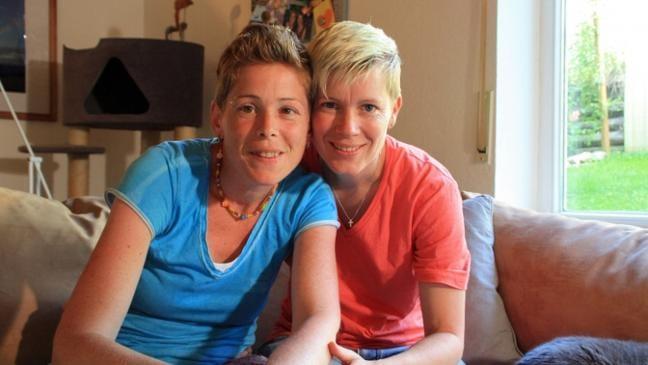 Mama lesbische Video
