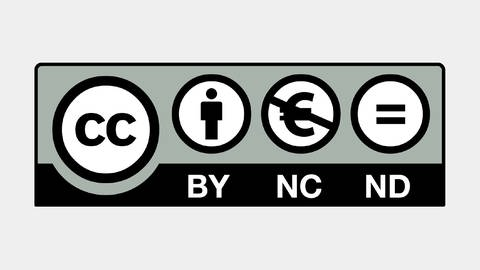 Graphic for Creative Commons license (Photo: creativecommons.org)