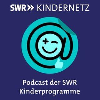 """Das Logo SWR Kindernetz mit der Textzeile """"Podcast der SWR Kinderprogramme"""" (Foto: SWR)"""