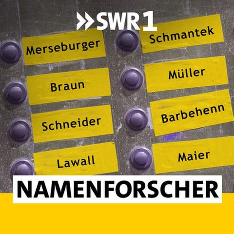 Podcast SWR1 Namensforscher (Foto: SWR)