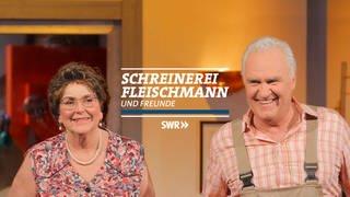 Logo Schreinerei Fleischmann (Foto: ard-foto s2-intern/extern, Collage SWR)