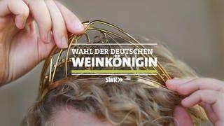 Logo Wahl der deutschen Weinkönigin (Foto: SWR)