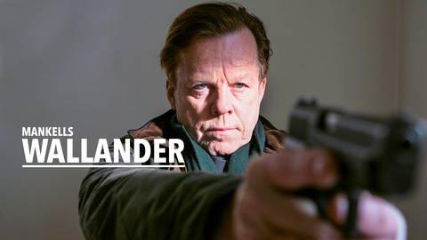 "Logo ""Mankells Wallander"" (Foto: SWR)"