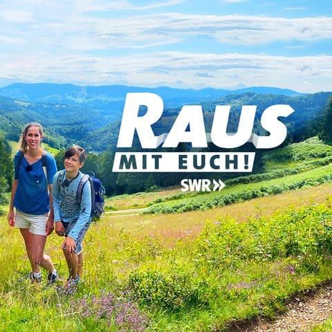 Sendungssignet 'Raus mit Euch' (Foto: SWR)