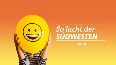 """Logo """"So lacht der Südwesten"""" mit Moderatorin Alexandra Gauger (Foto: SWR, SWR)"""