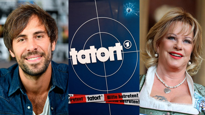 Montage von Max Giesinger, einem Tatort-Motiv zum Tatort-Event