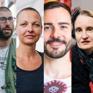 Viele Gesichter aus der Heimat (Foto: SWR)